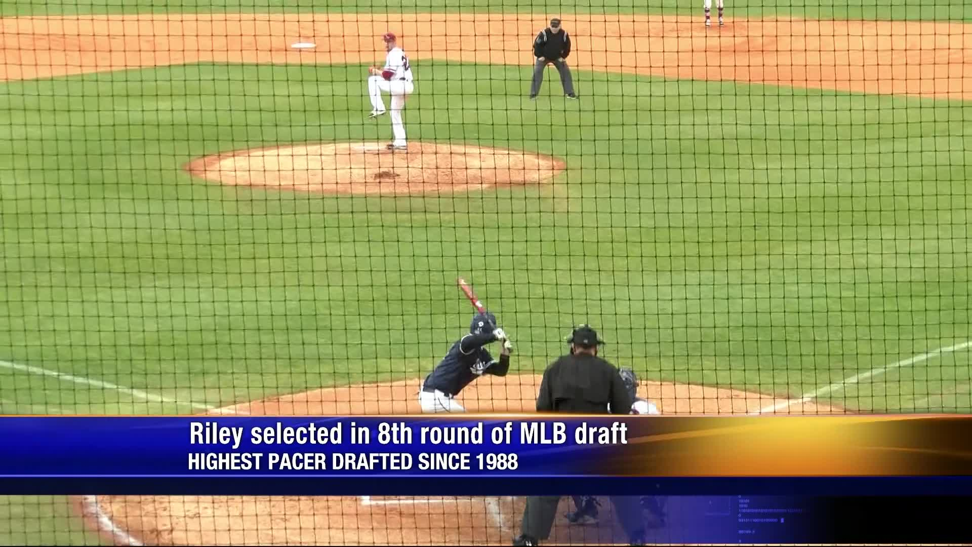 Connor Riley's turnaround season leads to eighth round MLB draft selection