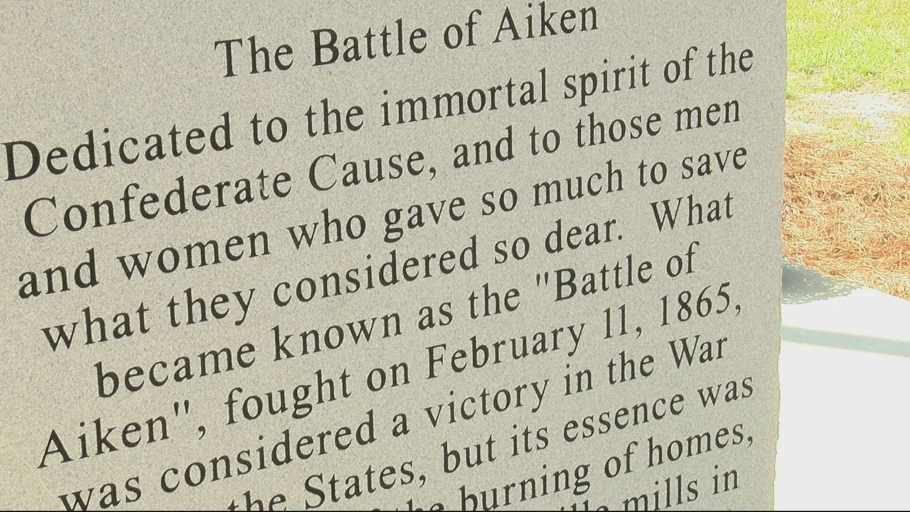 Battle of Aiken Confederate Monument_320274