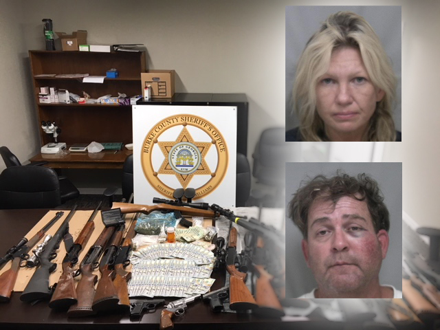 Two arrested in Burke County drug bust