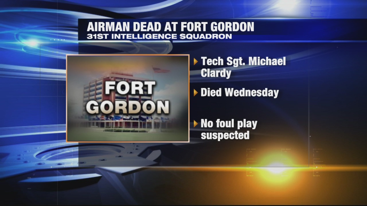 fort gordon airman dead_344688