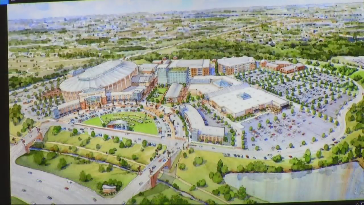 Commission rejects mall site for new arena