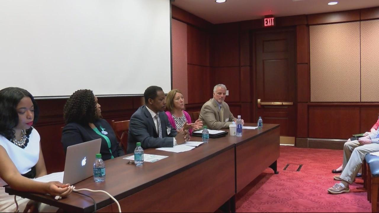 Georgia groups talk gynecological health in DC.