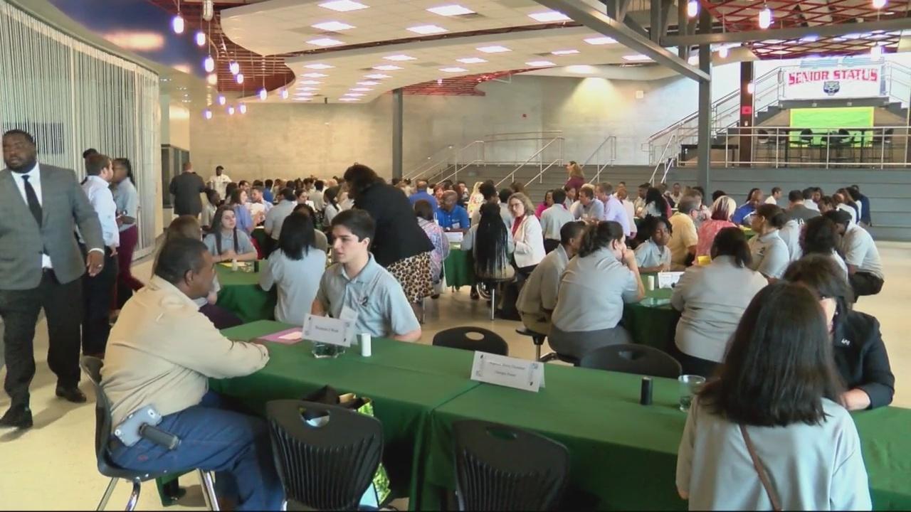 Students score paid internships through work program