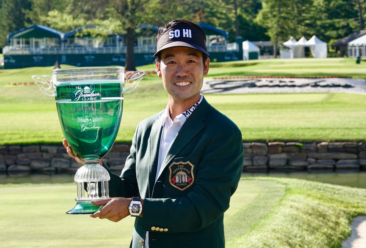 Kevin Na wins at The Greenbrier