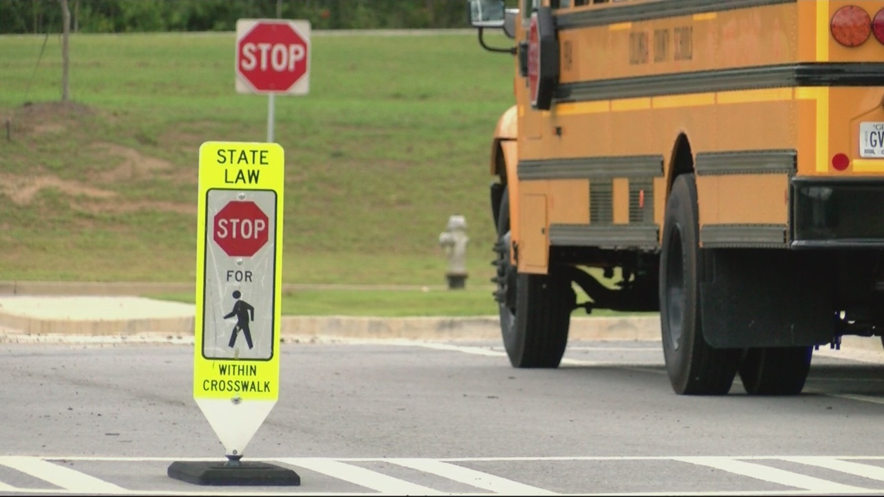 Students heading back to school mean drive carefully.