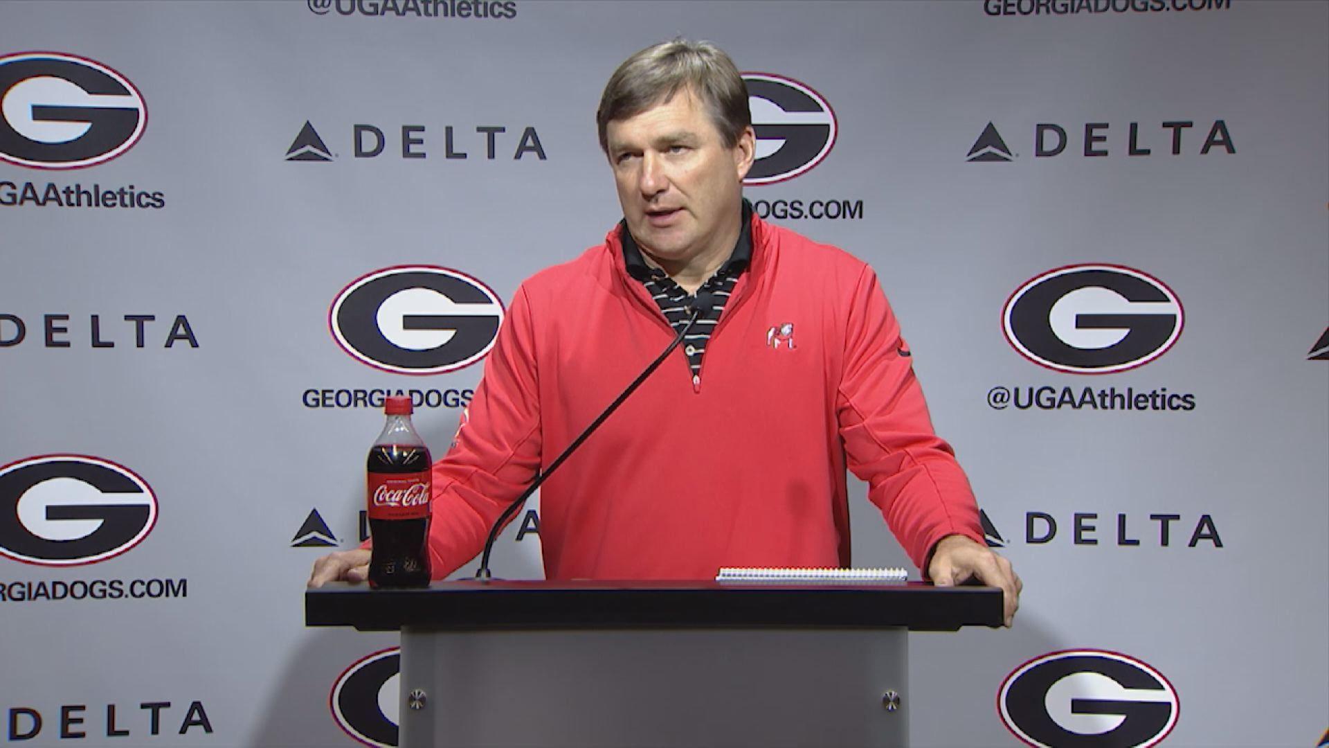 Kirby Smart previews Auburn game