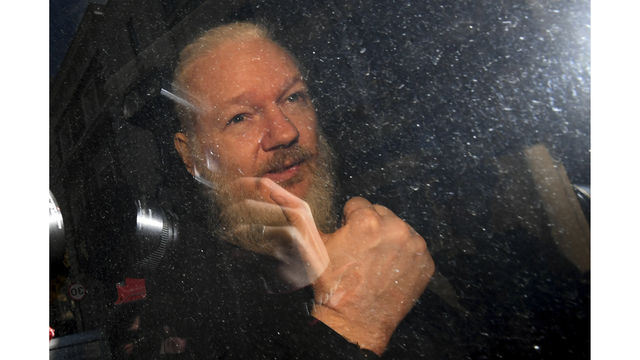 Britain Wikileaks Assange Arrested_1554987830402