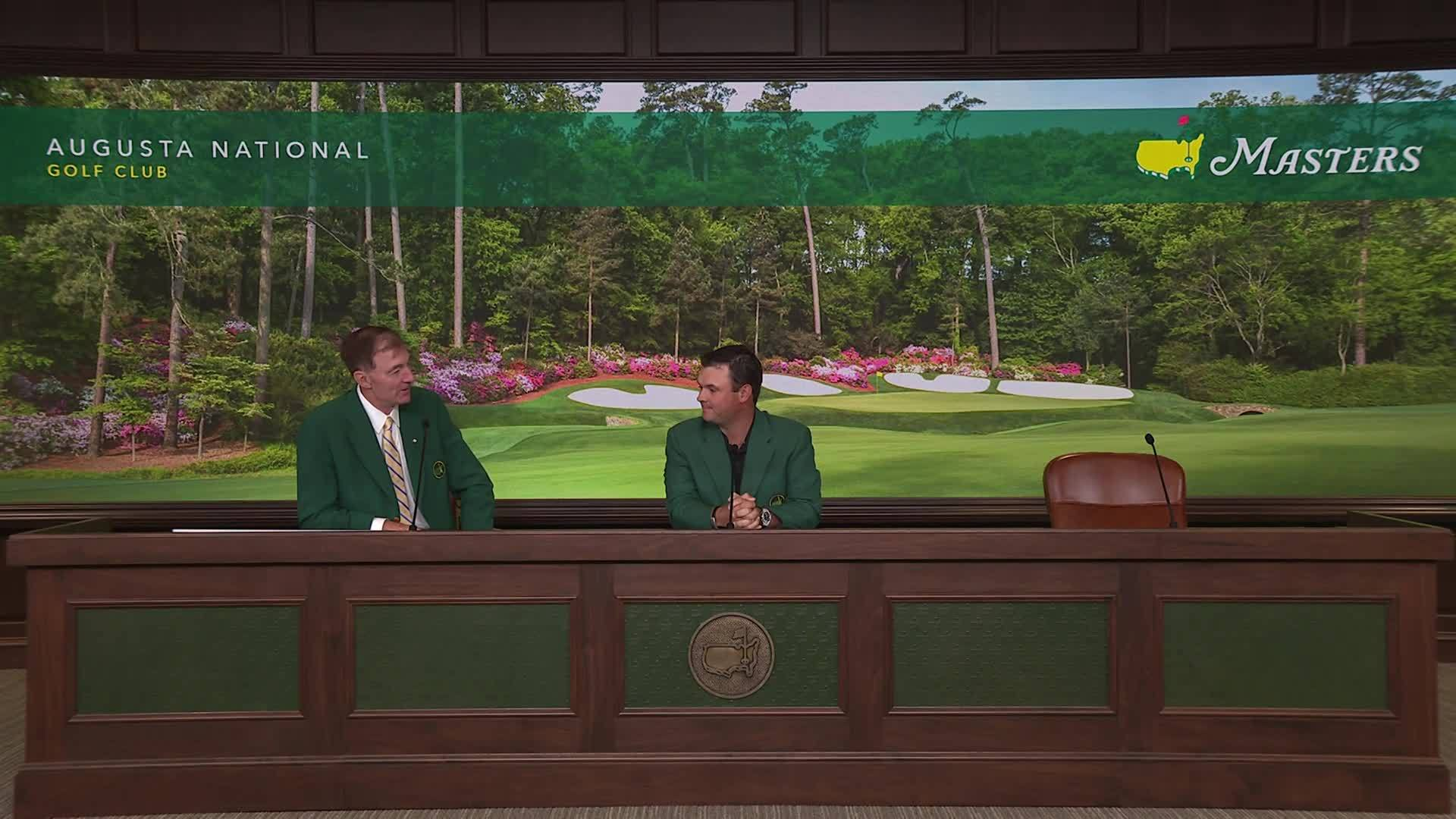 Day 2 Patrick Reed interview