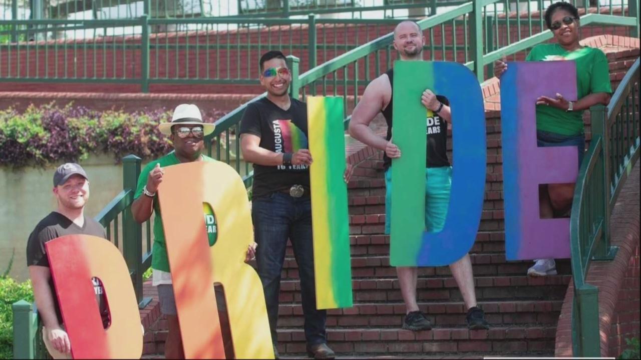 Augusta Pride celebrates a decade
