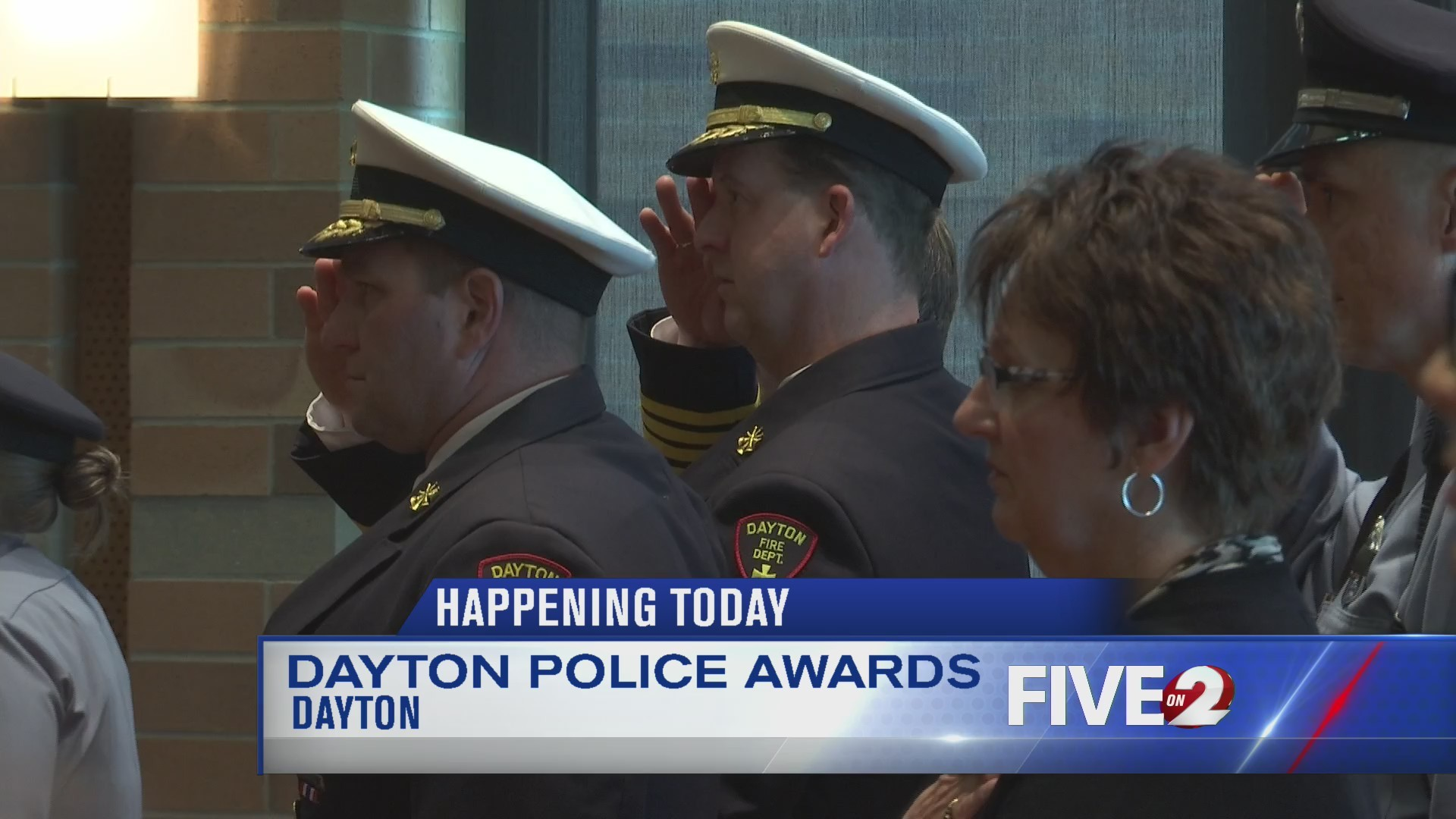 Dayton Police Dept. awards