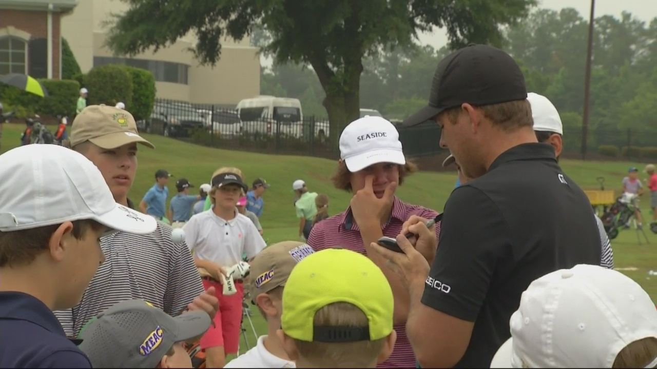 Local PGA Tour pros give back to junior golfers
