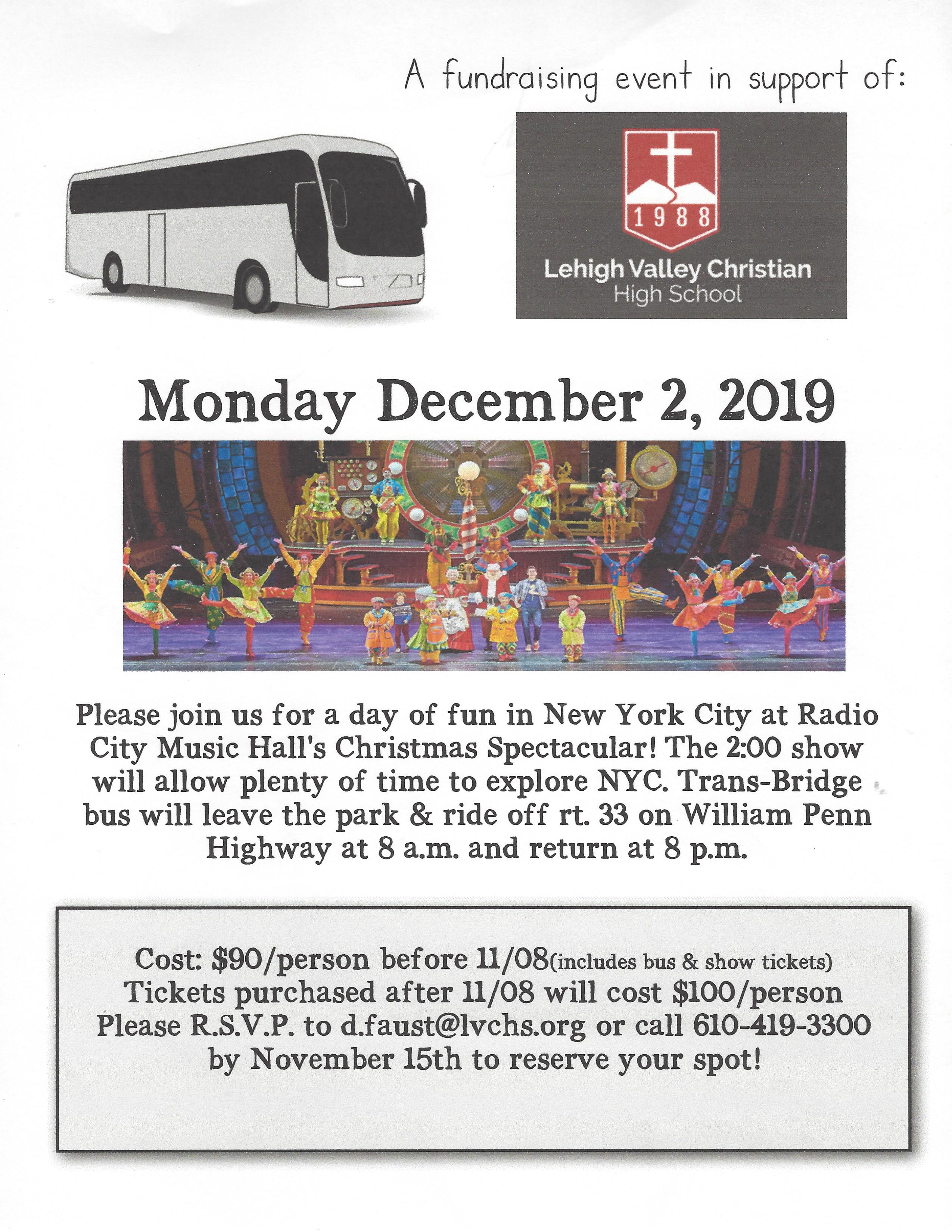 Rockettes Christmas Spectacular 2020 Bus Tours Bus Trip to Radio City Music Hall's Christmas Spectacular – 12/2