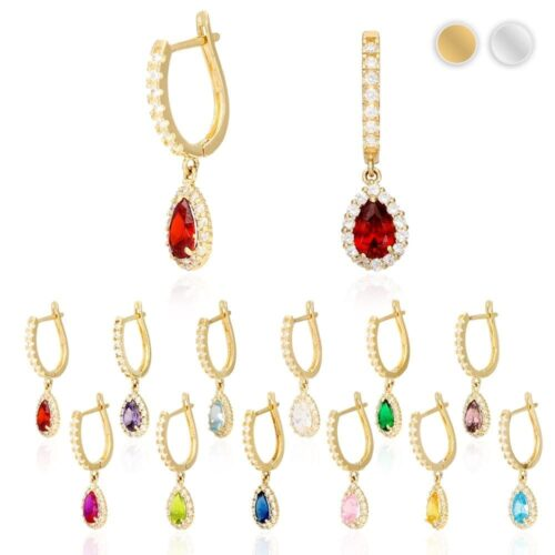 By Lily Nily Gold Plated with Yellow Enamel Jewelry for Girls Butterfly Dangle Hoop Earrings