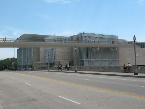 Art Institute Of Chicago Modern Wing Il