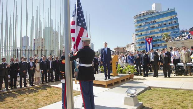American Flag in Cuba_34701