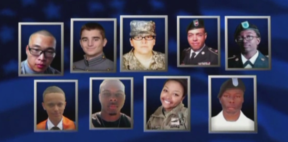 Fort Hood soldiers who died in flooding_163852
