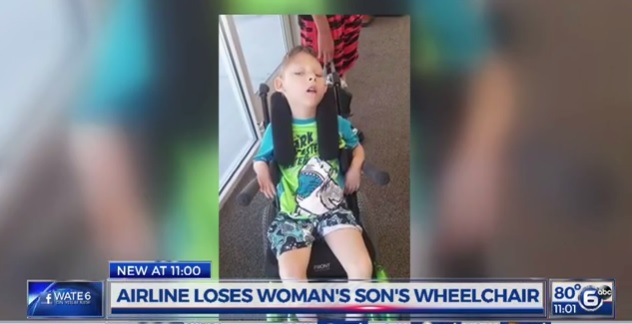 Airline loses wheelchair_190768