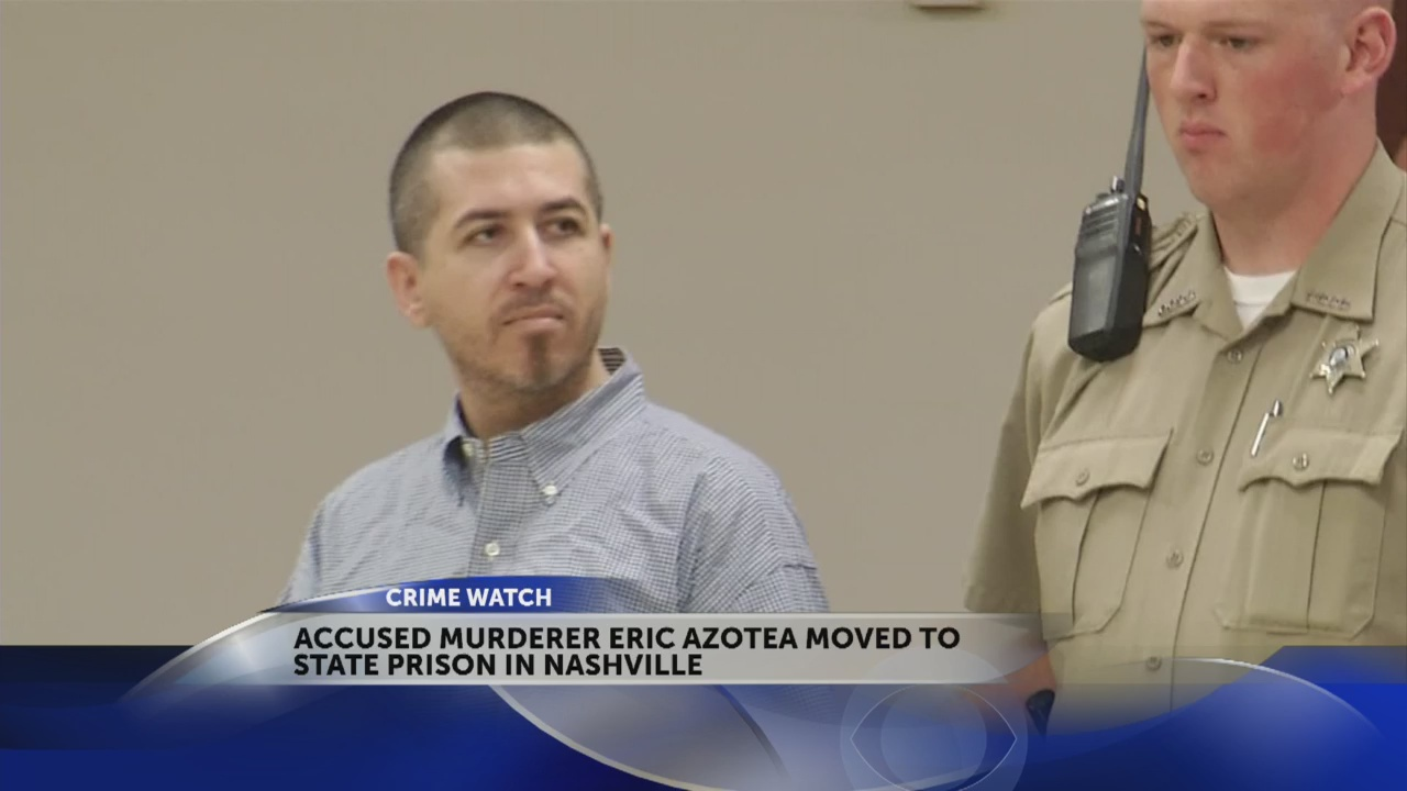 Azotea transfers from Carter County jail to max security prison