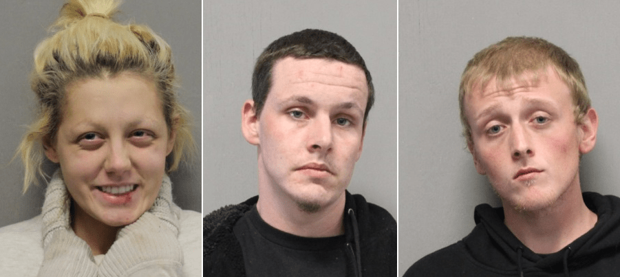 Trio arrested on multiple drug charges after traffic stop in Abingdon