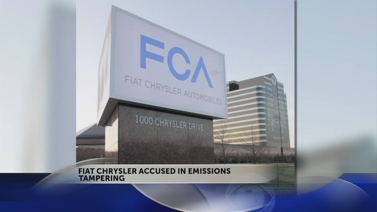 EPA investigates whether Fiat Chrysler software cheated on emissions