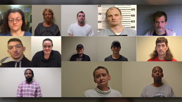 14 arrested in Morristown drug bust
