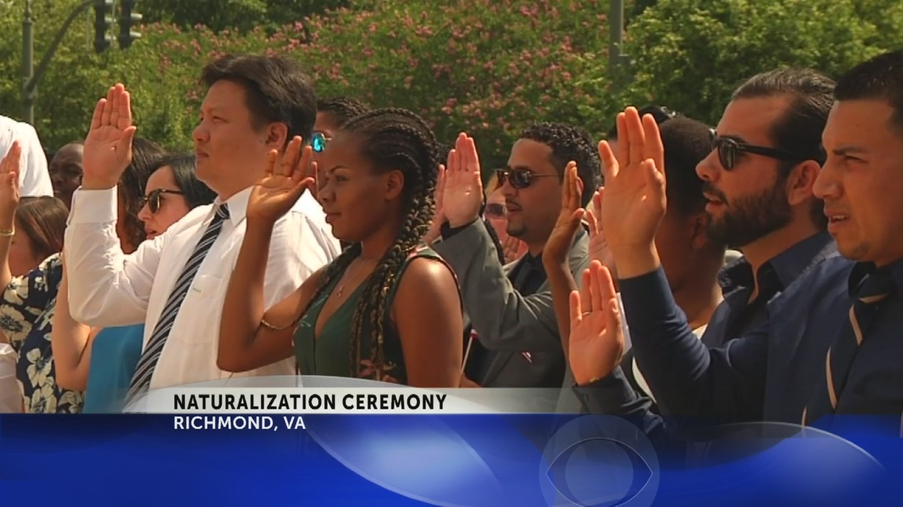 'It's our Fourth of July': New Americans take their oath for citizenship
