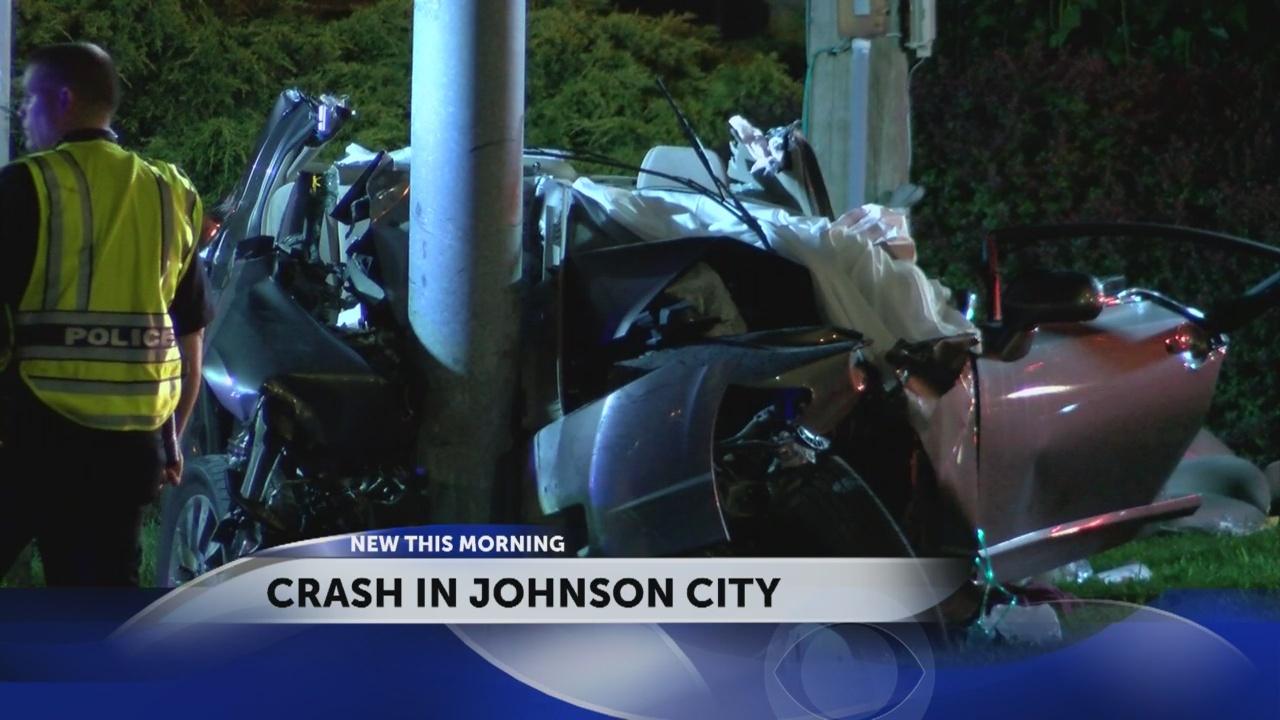 Tennessee Highway Patrol investigating Johnson City Crash