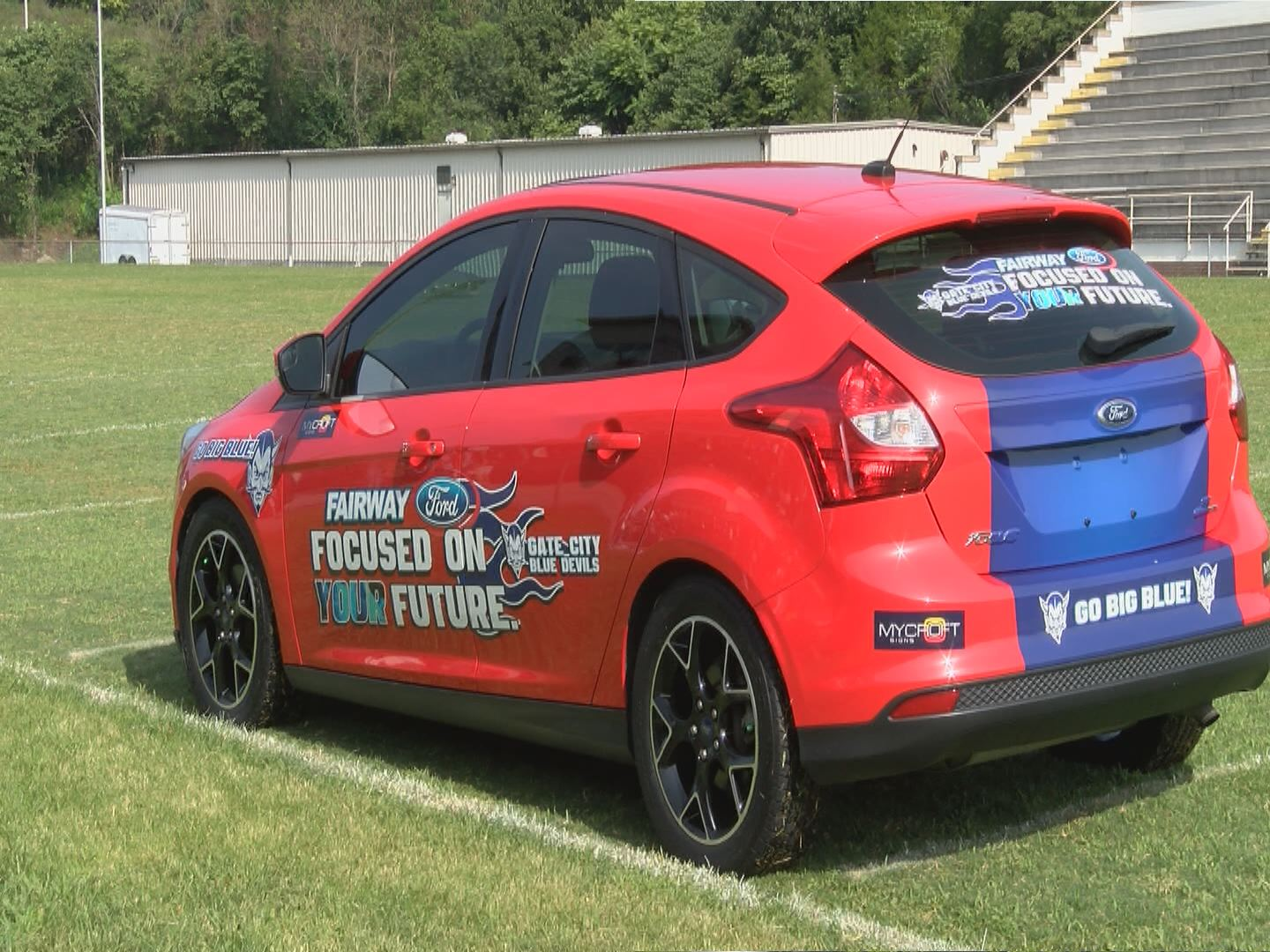 Students with perfect attendance at one school get chance to win car