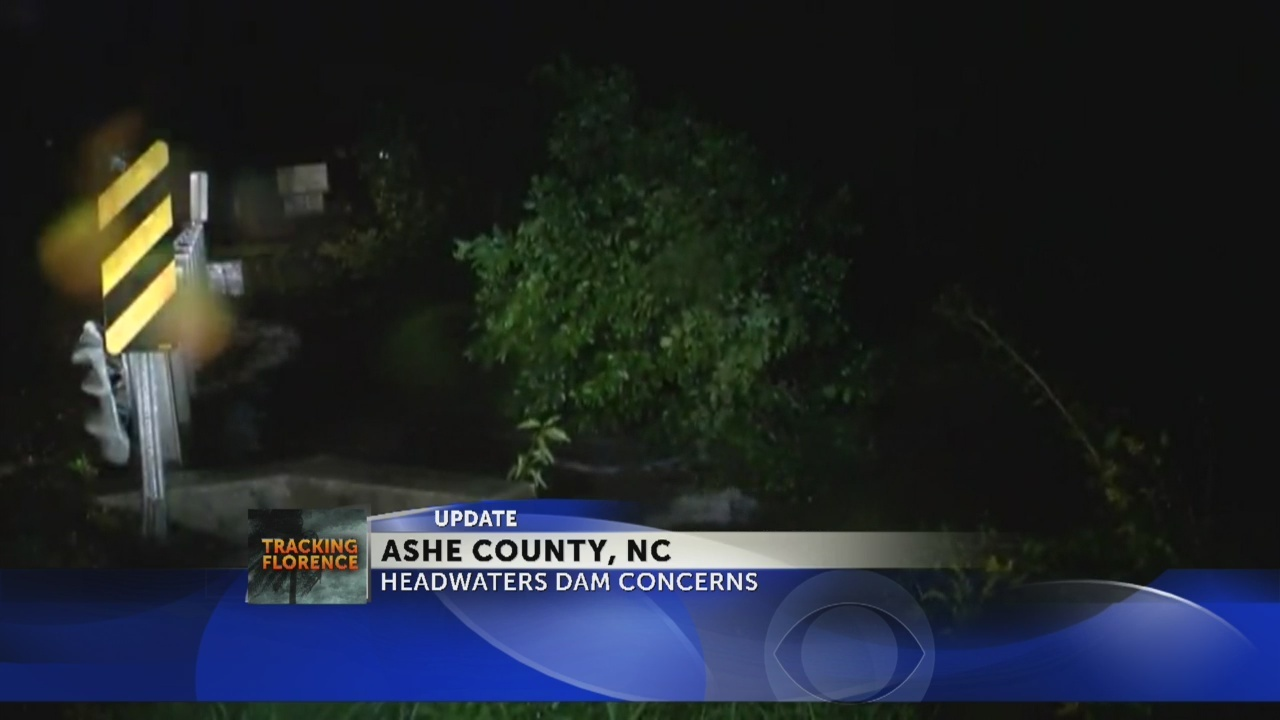 Ashe County EMA: Headwaters Dam OK after report of breach potential