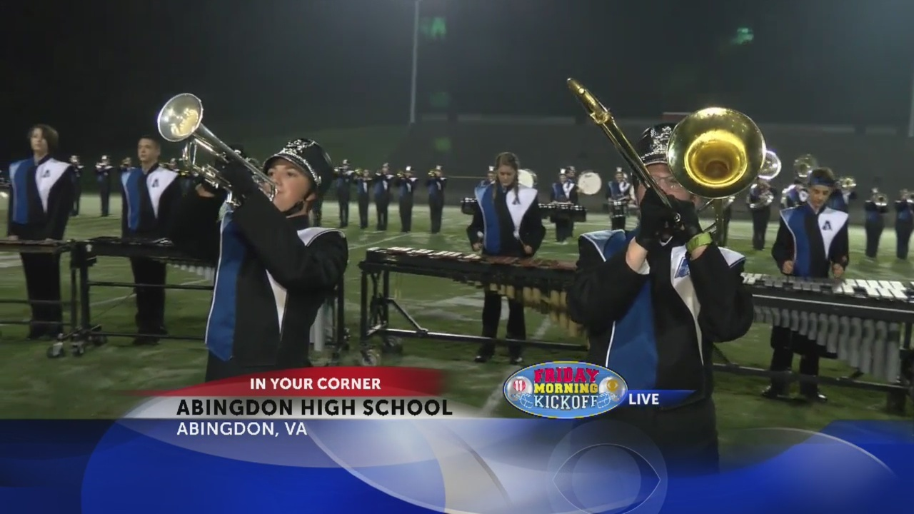 Friday Morning Kickoff: Abingdon High School Band