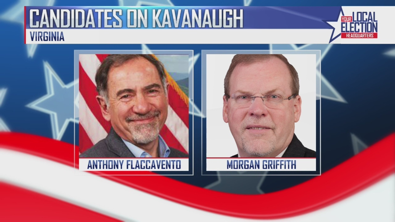 Candidates running for Congress out of Virginia comment on new Supreme Court Justice Brett Kavanaugh