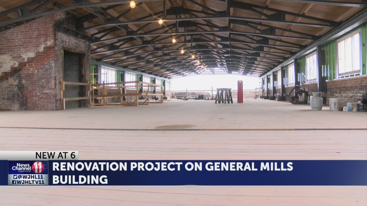 First look inside ongoing construction inside General Mills property in Johnson City