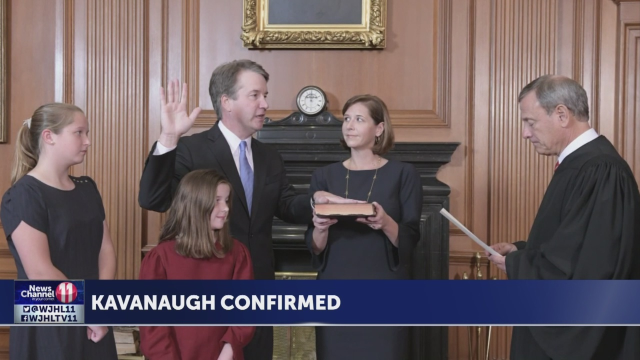 Trump says allegations against Kavanaugh 'hoax'