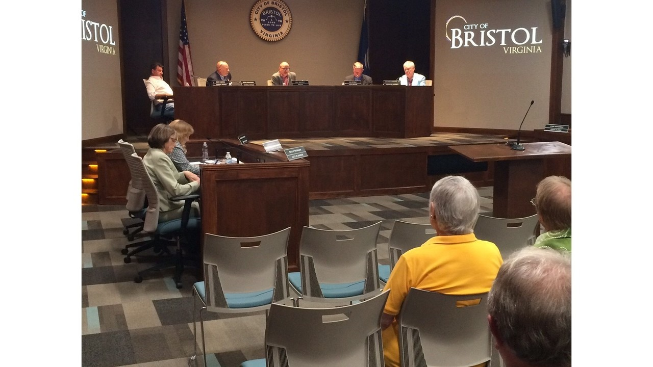 Bristol, VA City Council selects 3 finalists for seat vacated by Doug Fleenor