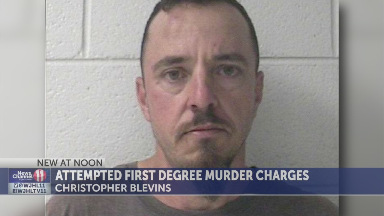 Man charged with attempted murder after two injured in Johnson City shooting