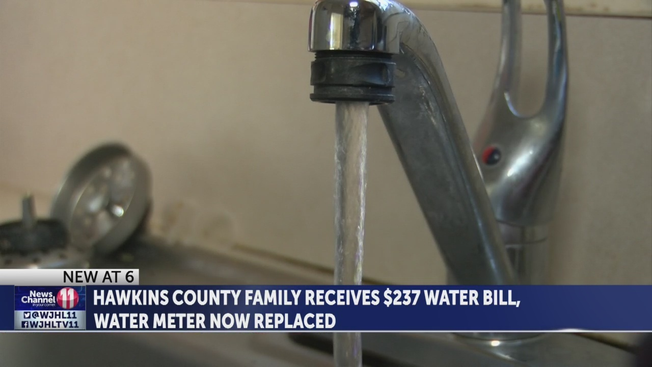 INVESTIGATION: Hawkins County woman says she's being charged for water she didn't use