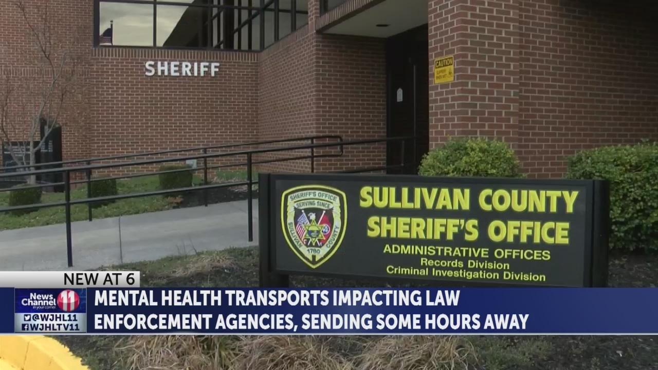 Hours-long mental health transports drain law enforcement agencies; Patients suffer