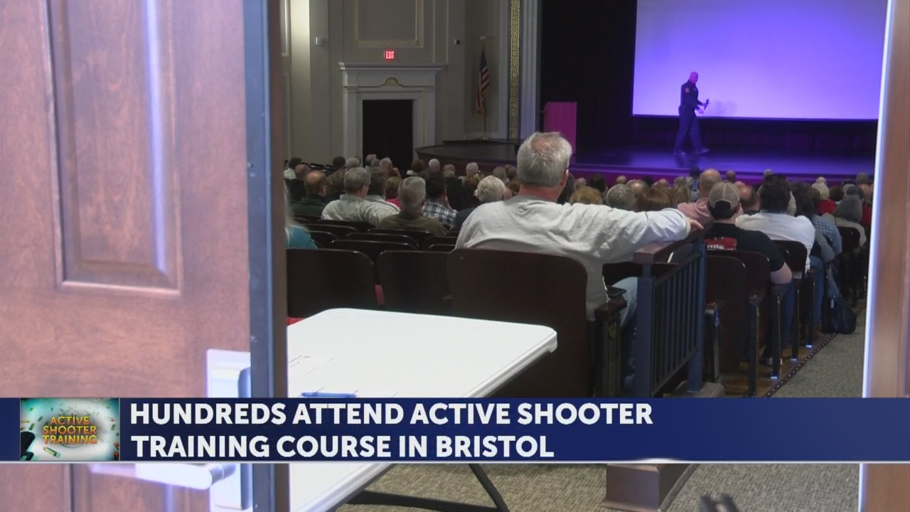 300+ RSVP for active shooter response class in Bristol, TN Wednesday night