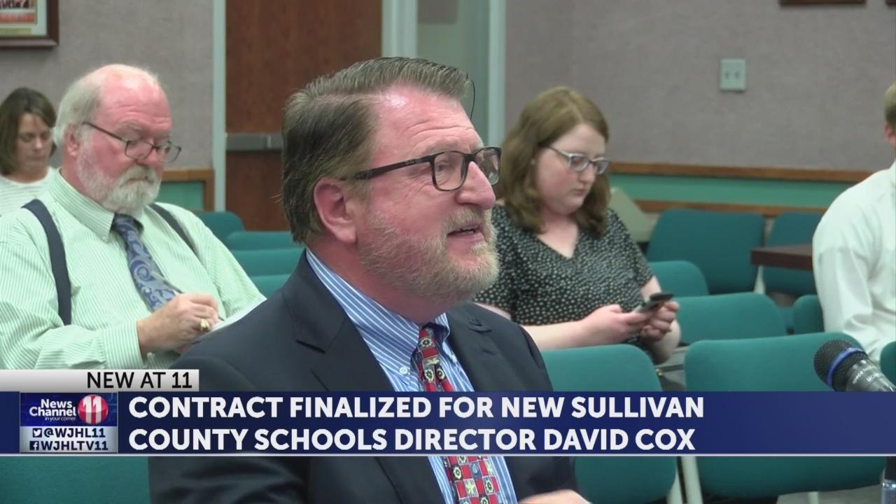 Sullivan Co. Director of Schools contract