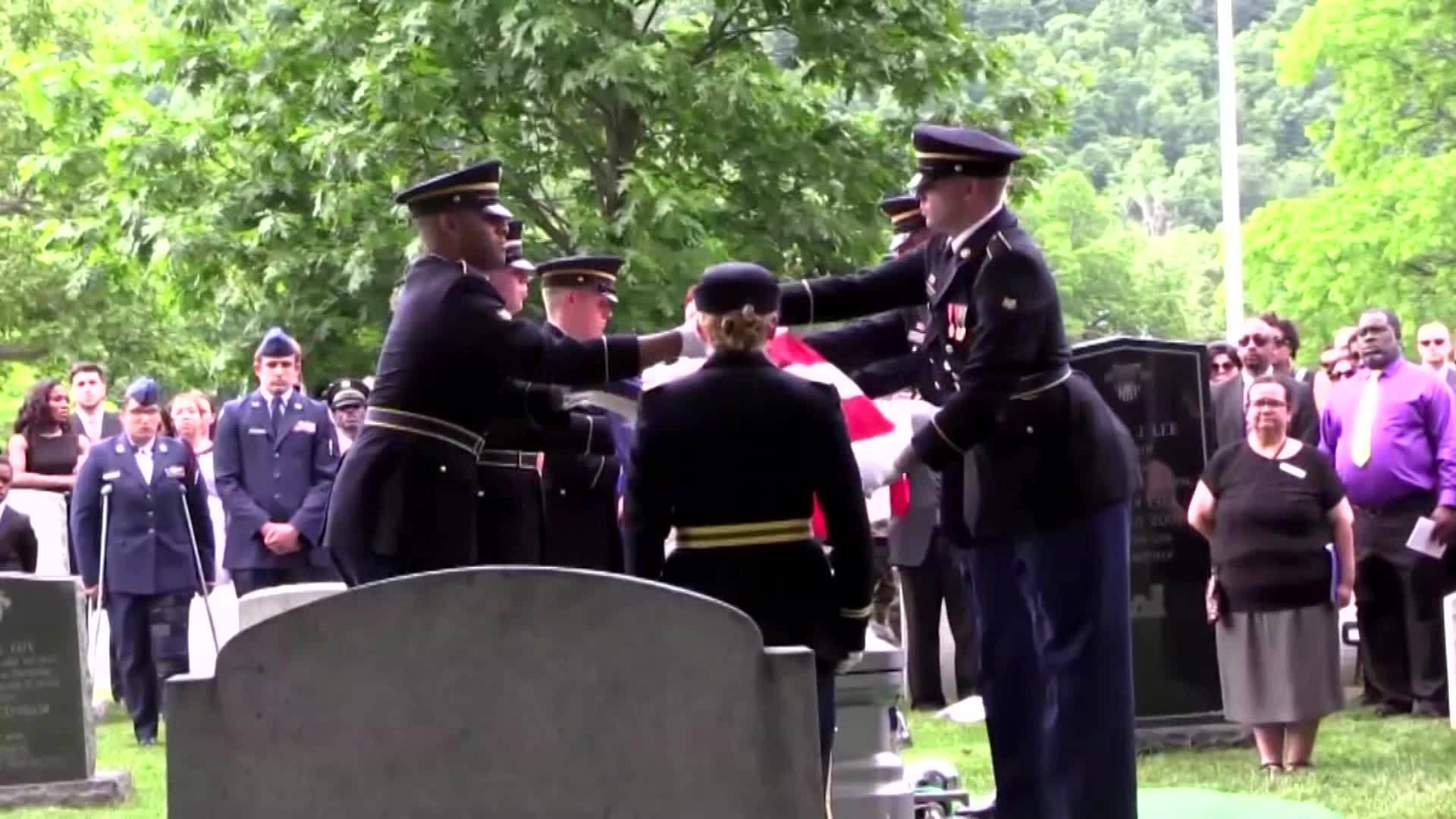 Funeral services were held Saturday for the West Point cadet from New Jersey