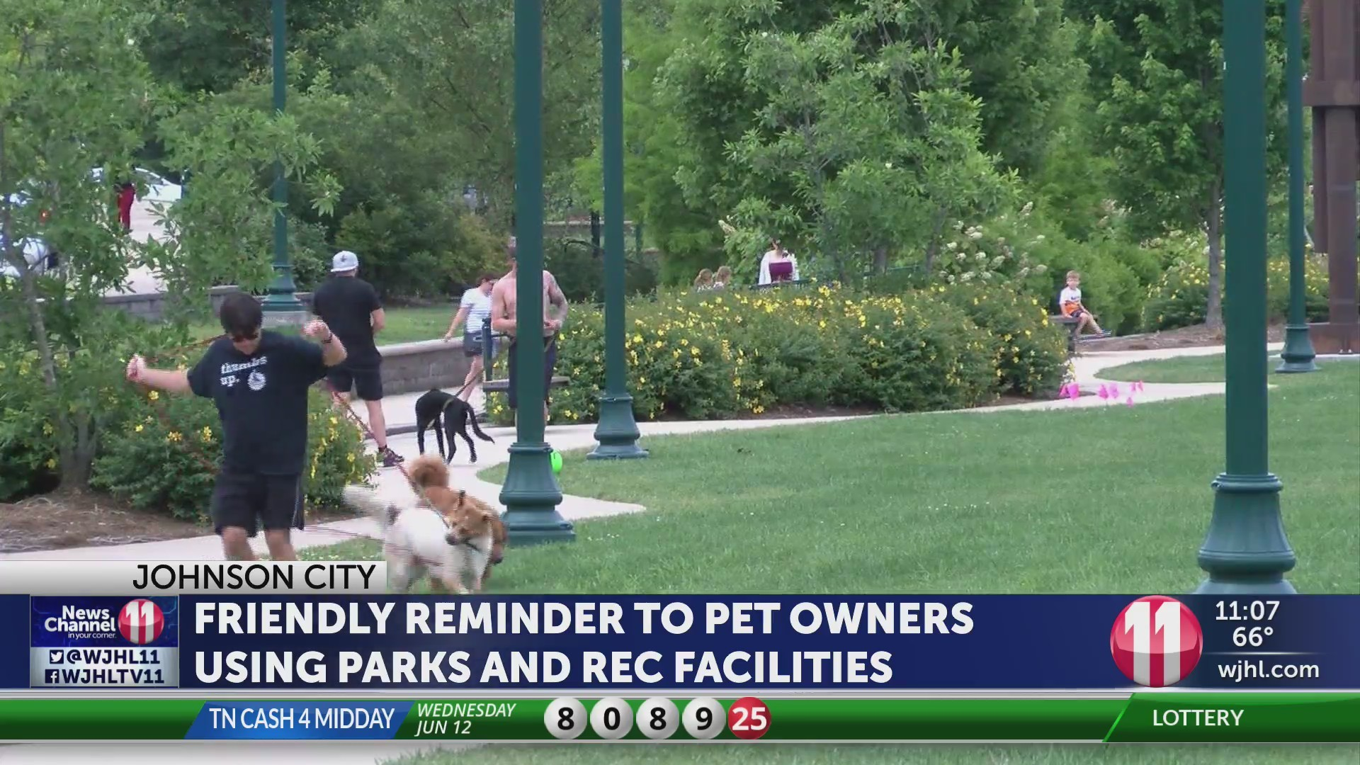 JC Parks and Rec Dept. reminds owners to clean up after dogs