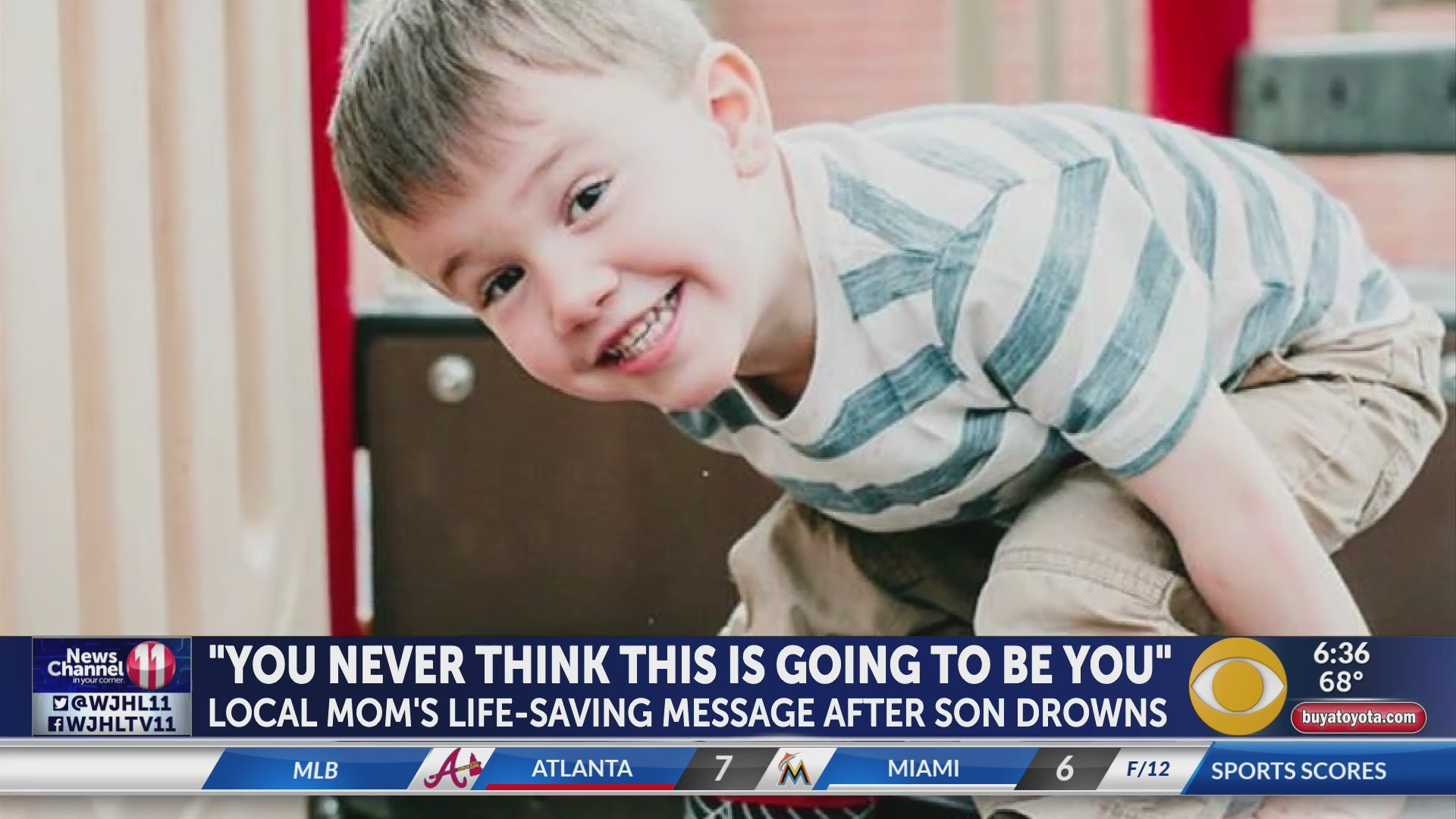 LEVI'S LEGACY: Local mom shares story of son's drowning to warn others