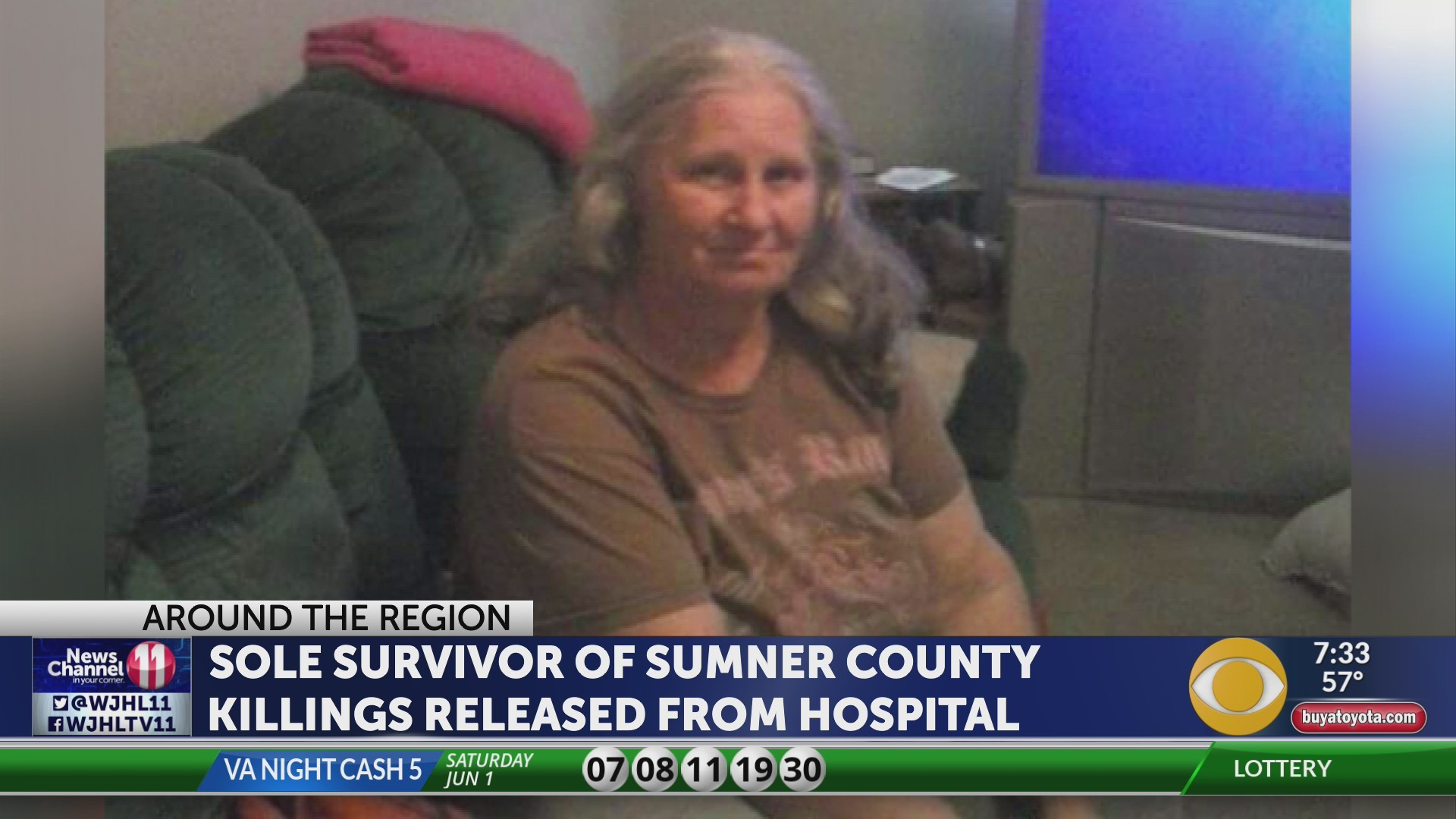 Sumner County shooting victim returns home