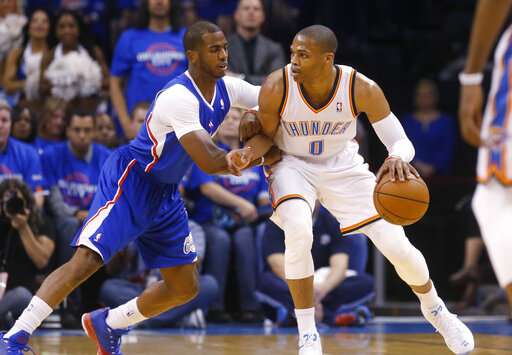 Russell Westbrook, Chris Paul