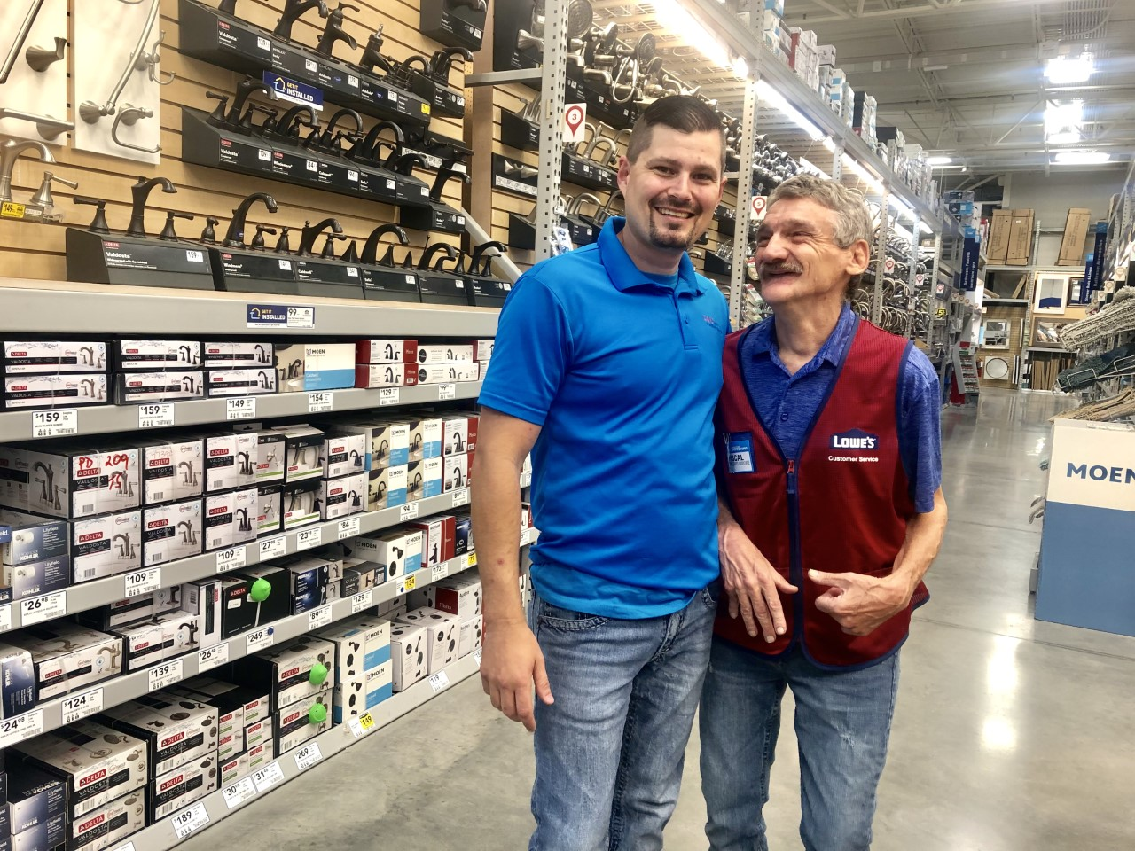 LOWE'S EMPLOYEE PASCAL LEWIS