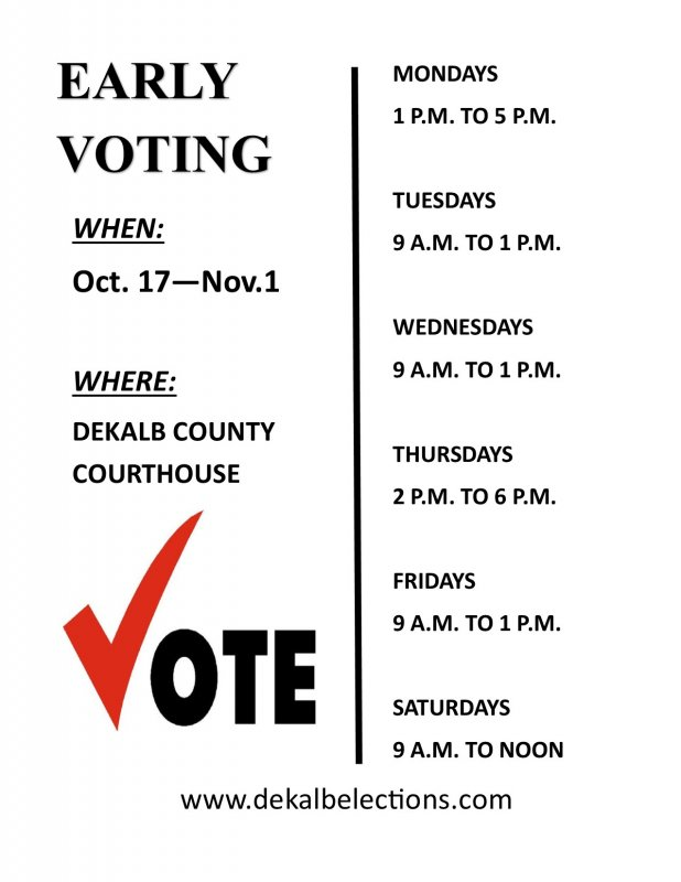Want to Vote Nov. 6? Registration Deadline is Oct. 9