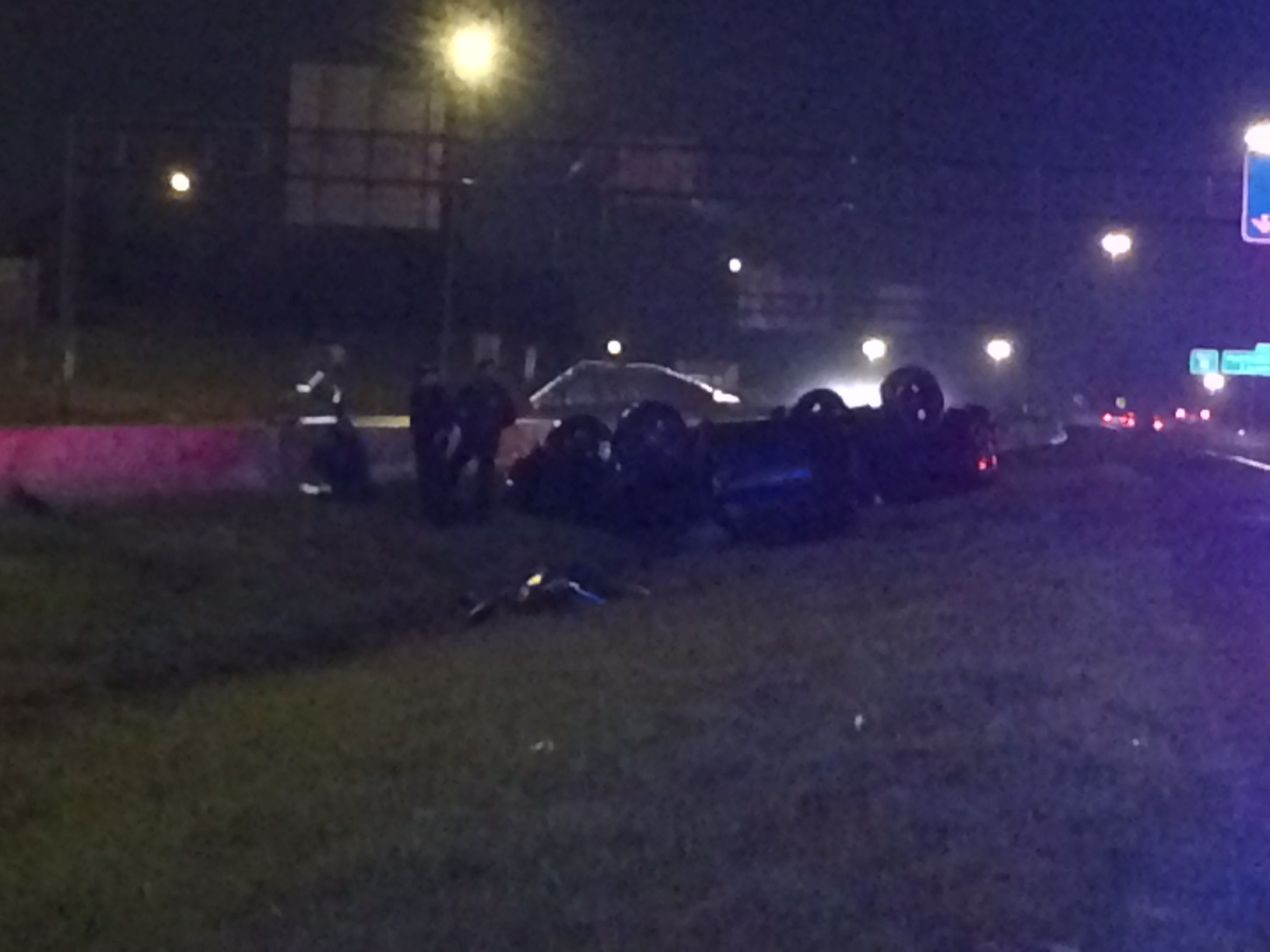 I-55 xar ax car flipped 1_110314