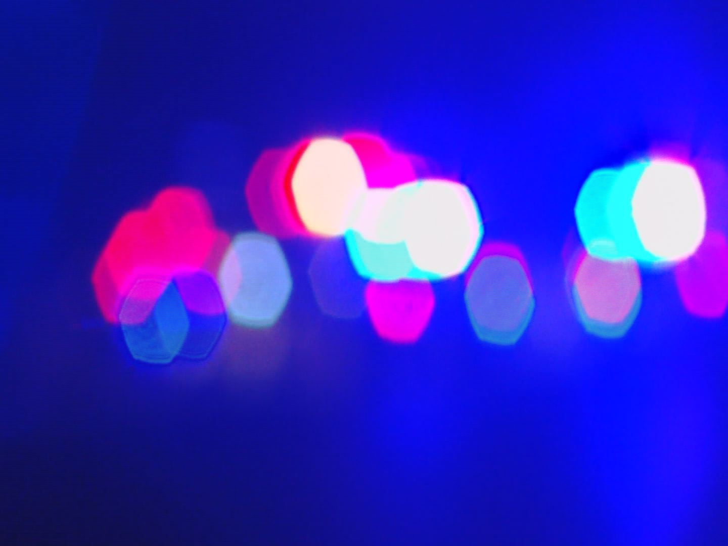 Police Lights Up Close Abstract_126463