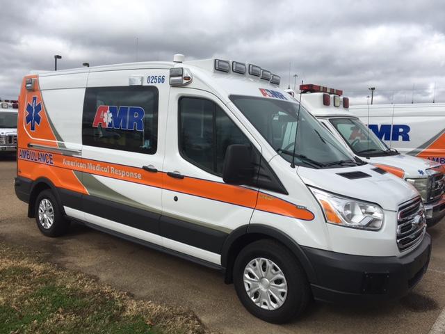 Pic No. 1 of 3 -- AMR new style ambulance -- 12-24-17_475428