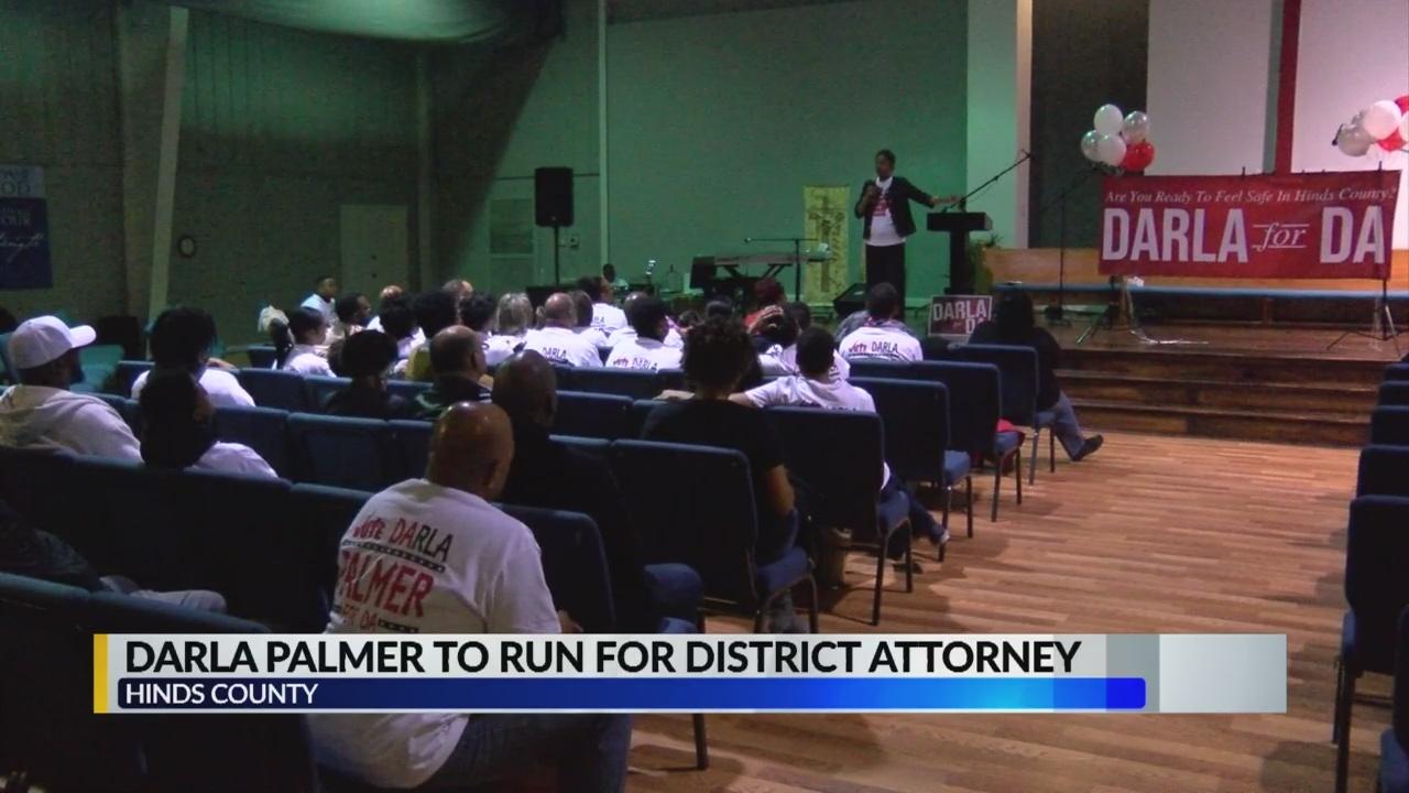Palmer announces run for D.A.